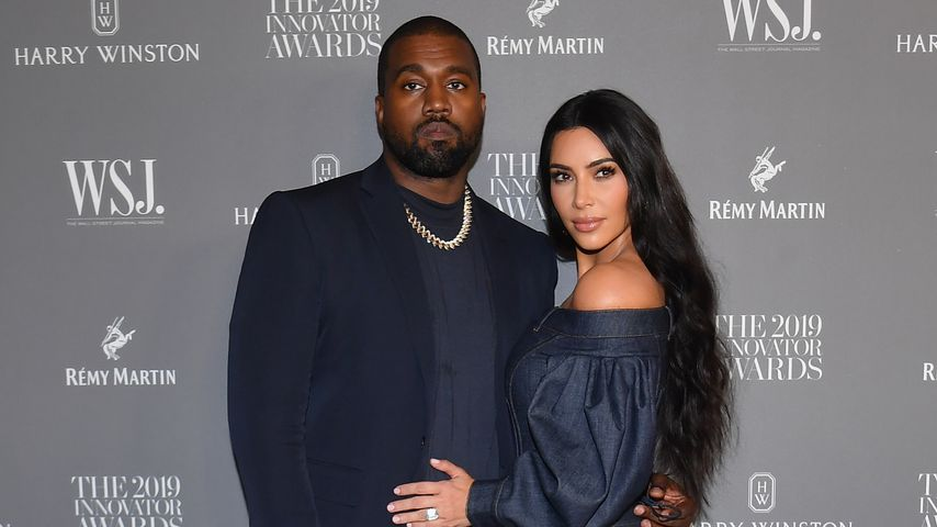 Kanye West und Kim Kardashian im November 2019