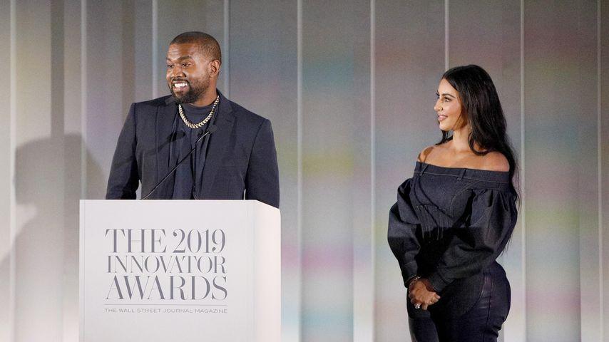 Kanye West und Kim Kardashian bei den Innovator Awards 2019