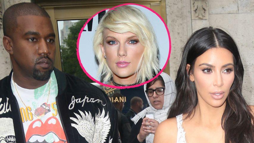 Kimye vs. Taylor Swift: Auf wessen Seite steht ihr?