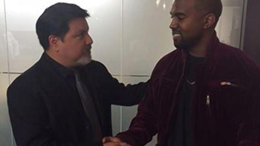 Kanye West ganz zahm: Einigung im Paparazzi-Prügel-Fall!