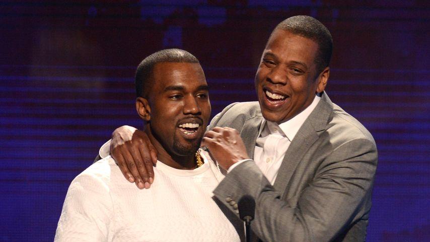 Kanye West und Jay-Z bei den BET-Awards im Jahr 2012