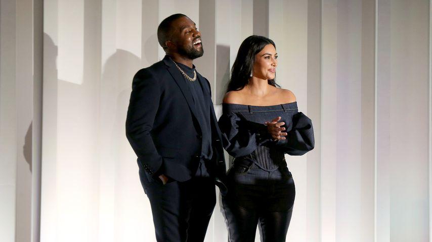 Kanye West und Kim Kardashian 2019 in New York