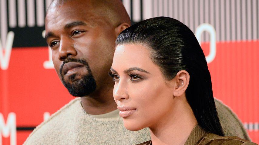 Kanye West und Kim Kardashian