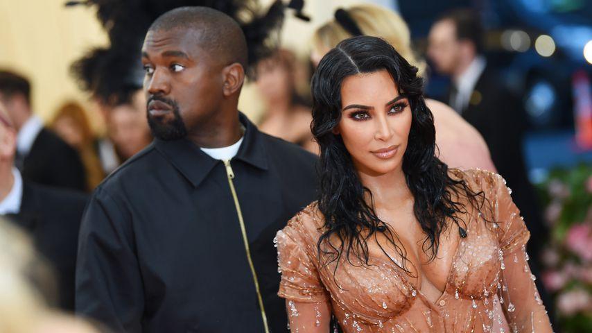 Kanye West und Kim Kardashian im Mai 2019 in New York
