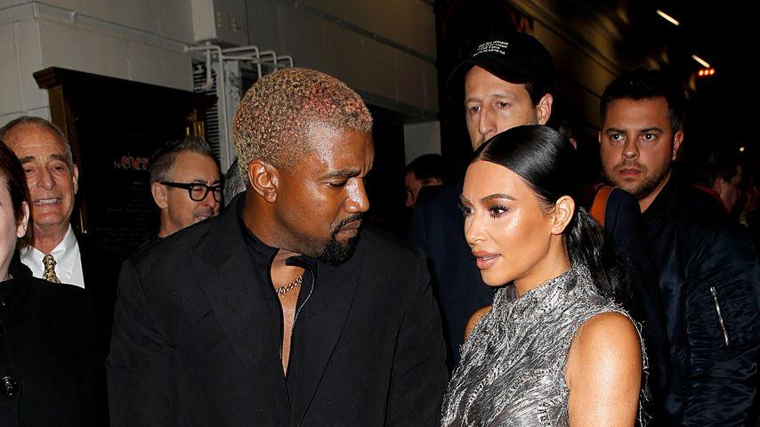 """Kanye West und Kim Kardashian beim Musical """"The Cher Show"""""""
