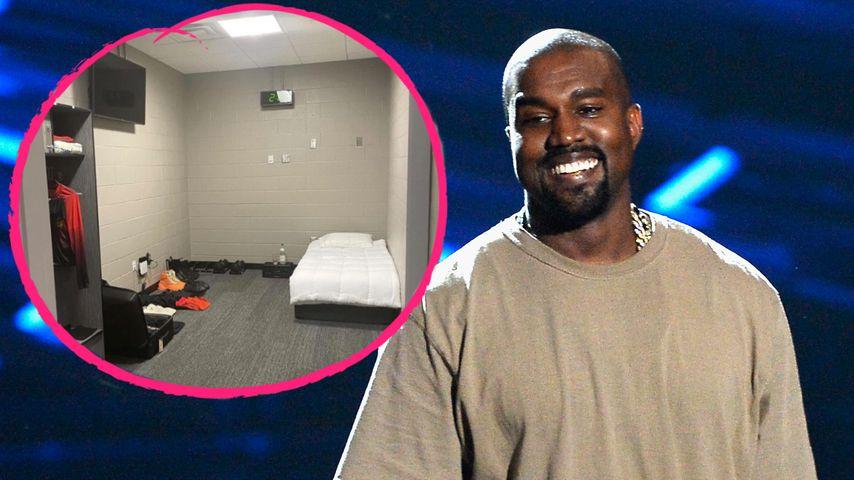 Kleines Zimmer ohne Fenster: Hier lebt Kanye West gerade