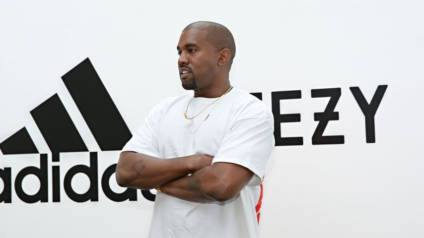 Kanye West bei den Milk Studios in Hollywood