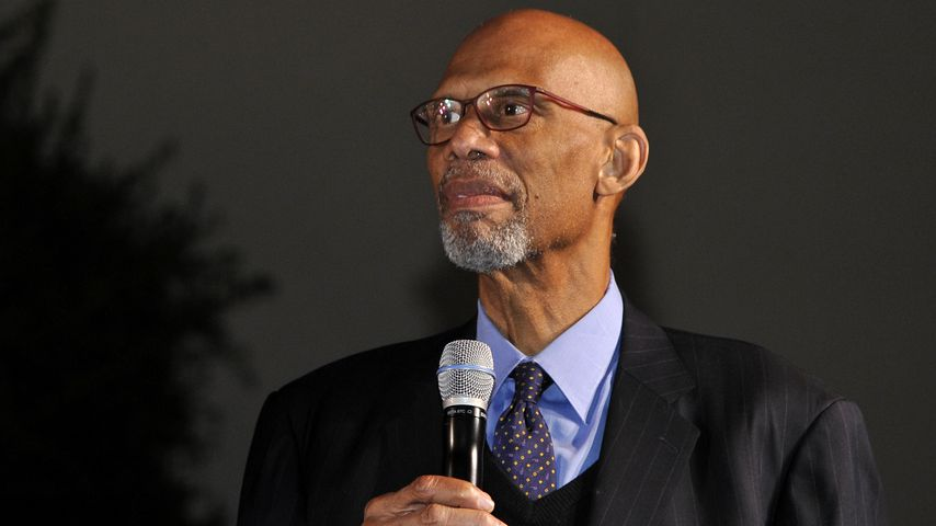 Kareem Abdul-Jabbar im April 2019