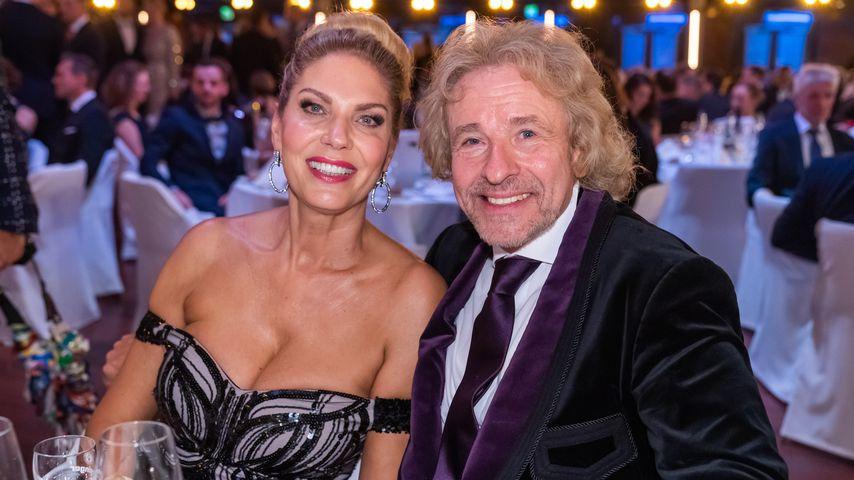 Thomas Gottschalks Freundin begeistert mit Mega-Dekolleté