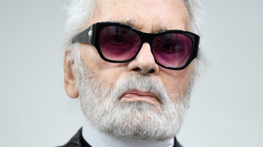 Modeschöpfer Karl Lagerfeld, Juni 2018