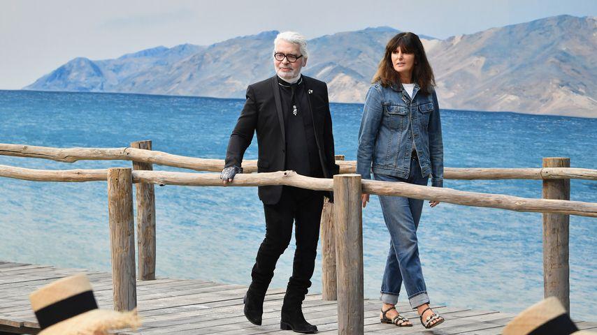 Nach Tod: Sie wird Karl Lagerfelds Chanel-Nachfolgerin!