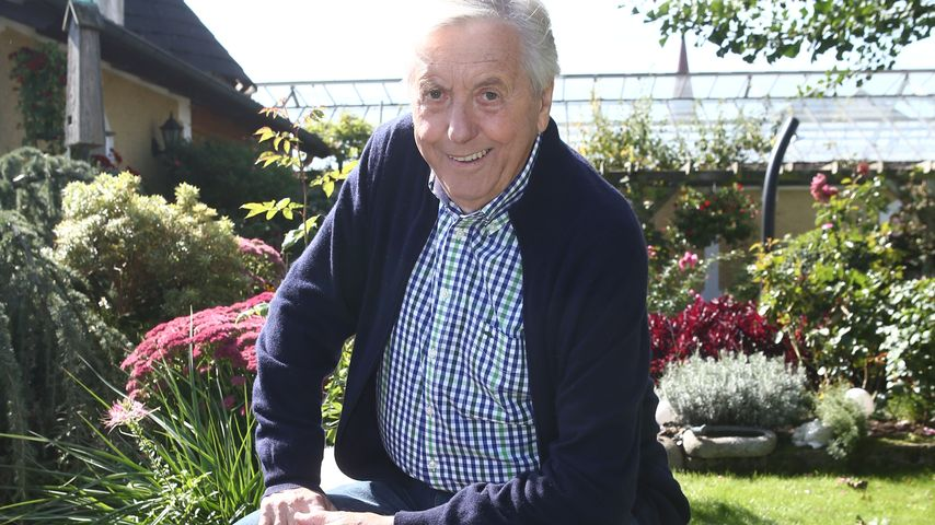 Rückschlag: Karl Moik wieder im Krankenhaus
