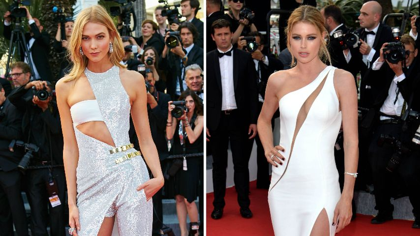Cannes-Beautys: Style-Duell bei Karlie Kloss & Doutzen Kroes