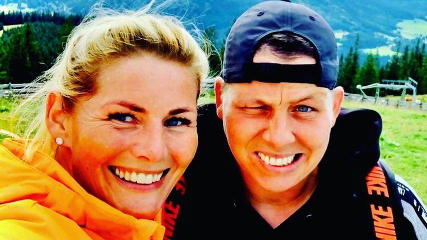 Carolina Coppen y su esposa Kristen Ott en agosto de 2020