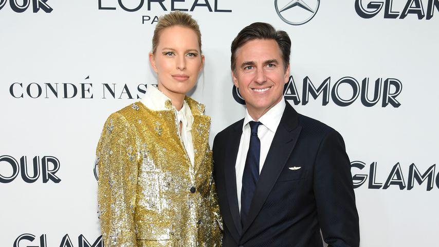 Karolina Kurkova und Archie Drury in New York, 2019