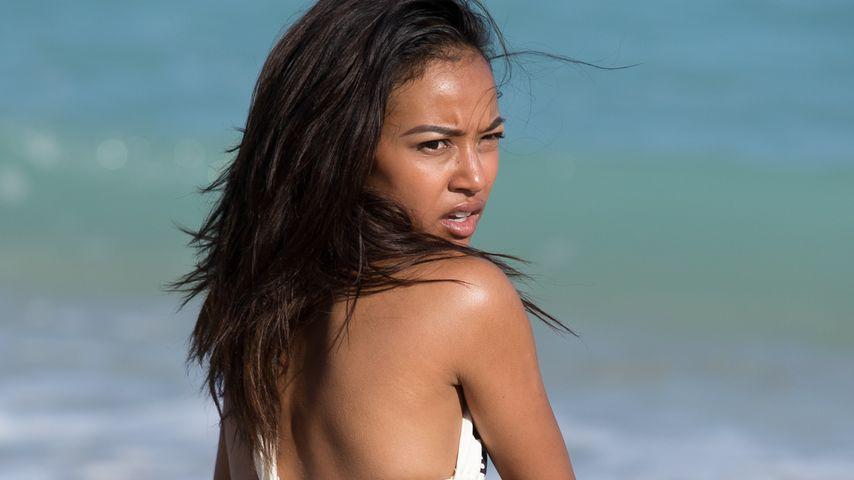 Karrueche: Auch am Strand keine Ruhe vor Chris