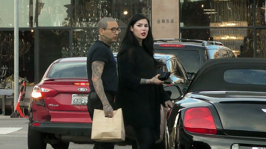 Kat Von D und Leafar Seyer im Januar 2020 in Los Angeles