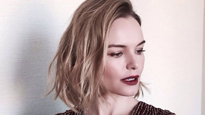 Neues Jahr, neuer Look: Kate Bosworth trägt Bob