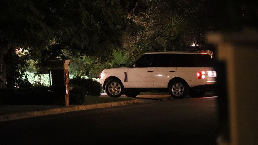 Kate Hudsons Auto auf ihrem Anwesen Pacific Palisades im Oktober 2019