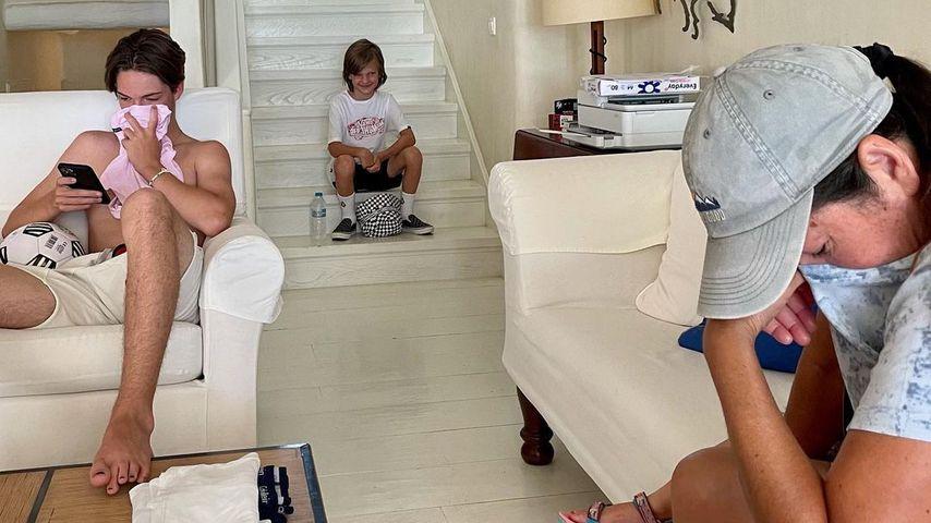 Kate Hudsons Familie im Juli 2021