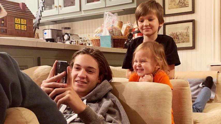 Kate Hudsons Kinder Ryder, Rani und Bingham