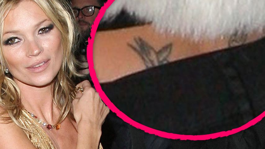 Trägt Kate Moss das teuerste Tattoo der Welt?