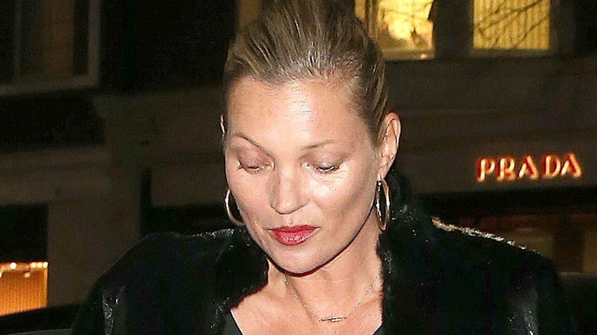 Nippel-Alarm in London: Kate Moss lässt BH lieber zu Hause!