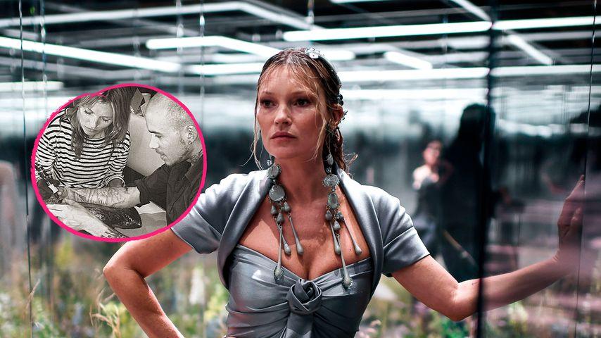 Wird Supermodel Kate Moss jetzt etwa zum Tattoo-Artist?