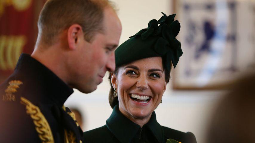 Prinz William und Herzogin Kate, März 2019