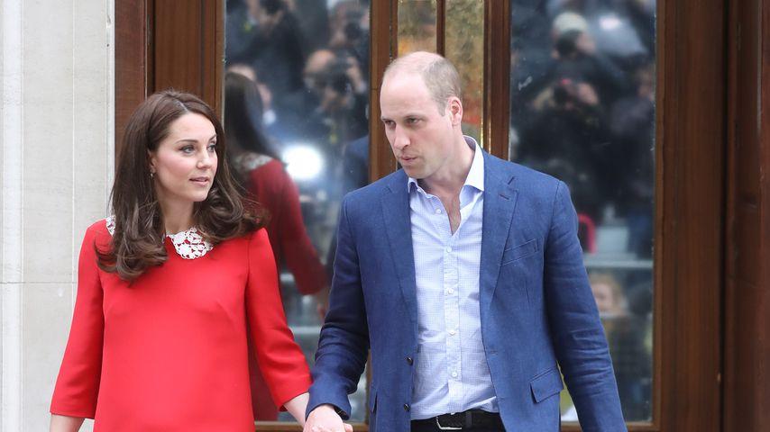 Herzogin Kate, Prinz William und ihr drittes Kind