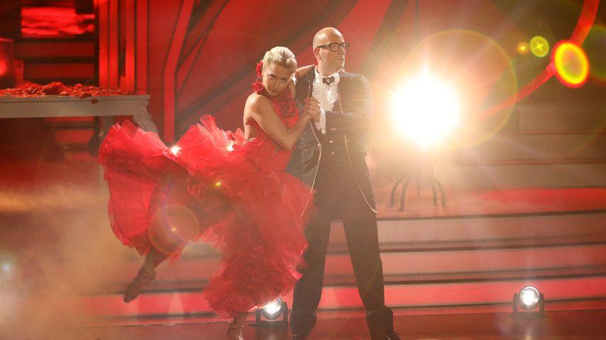 """Kathrin Menzinger und Thomas Rath bei der vierten Folge von """"Let's Dance"""""""