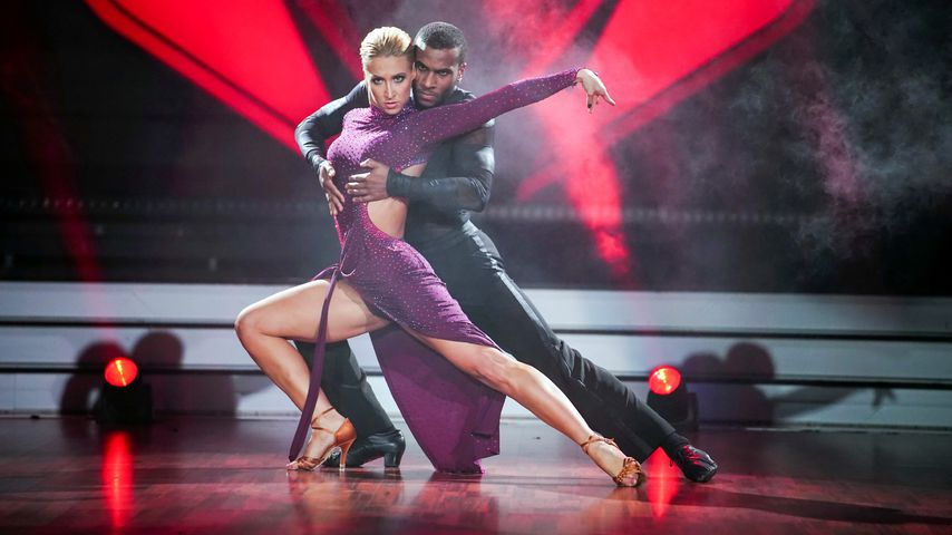 "Kathrin Menzinger und Tijan Njie bei ""Let's Dance"" 2020"