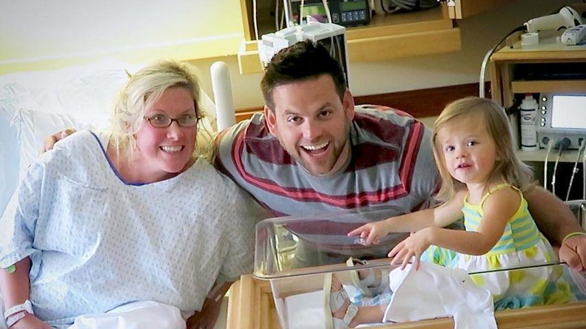 Katie, Cullen und Macey Gaines im Krankenhaus