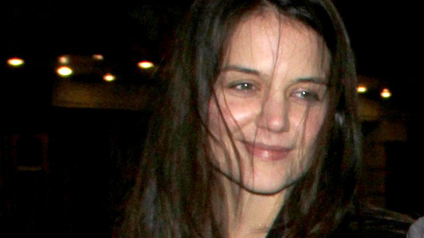 Ungewohnt: Katie Holmes zeigt sich ungeschminkt