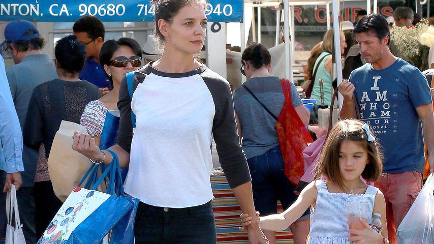 Katie Holmes und Suri Cruise