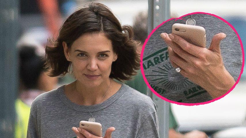 Verlobung? Katie Holmes mit verdächtigem Ring gesichtet