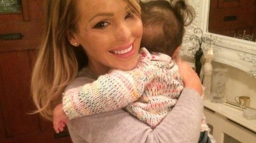 Säure-Opfer Katie Piper verpasst Baby-Geburtstag