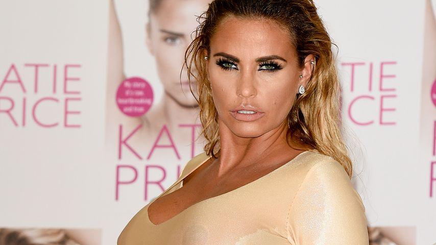 Schweiß-Attacke? Katie Price posiert mit feuchten Brüsten