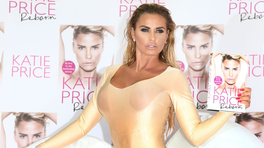 Katie Price in London, 2016