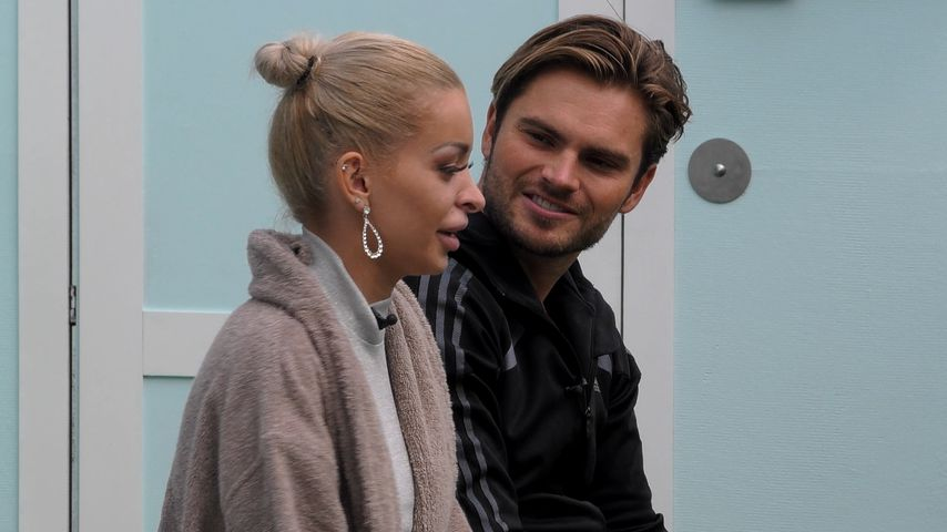 "Katja Krasavice und Johannes Haller bei ""Promi Big Brother"""