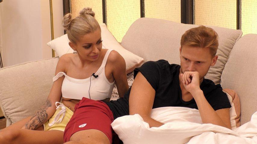 "Katja Krasavice und Pascal Behrenbruch bei ""Promi Big Brother"" an Tag 5"