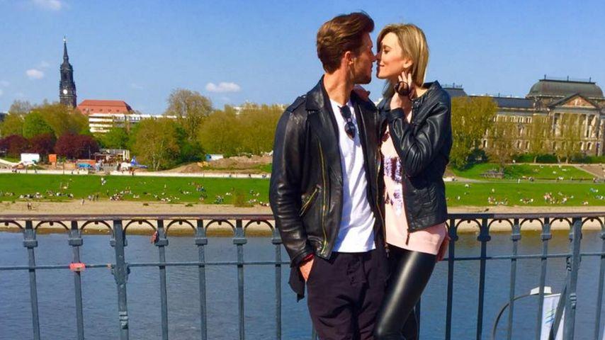 So verliebt! Katja Kühne im Liebesrausch mit Quirin Moll