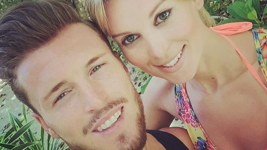 Paradiesischer Liebesurlaub: Katja Kühne turtelt mit Quirin