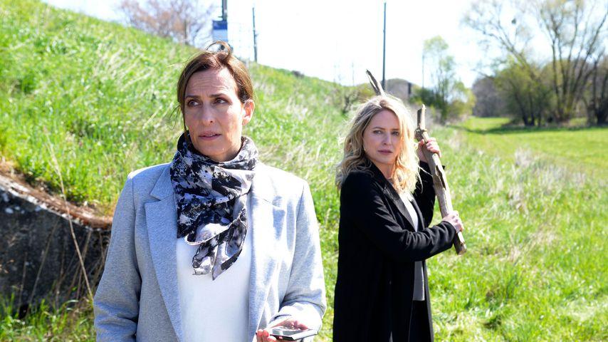 Katrin (Ulrike Frank) und Melanie (Diana Staehly) bei GZSZ