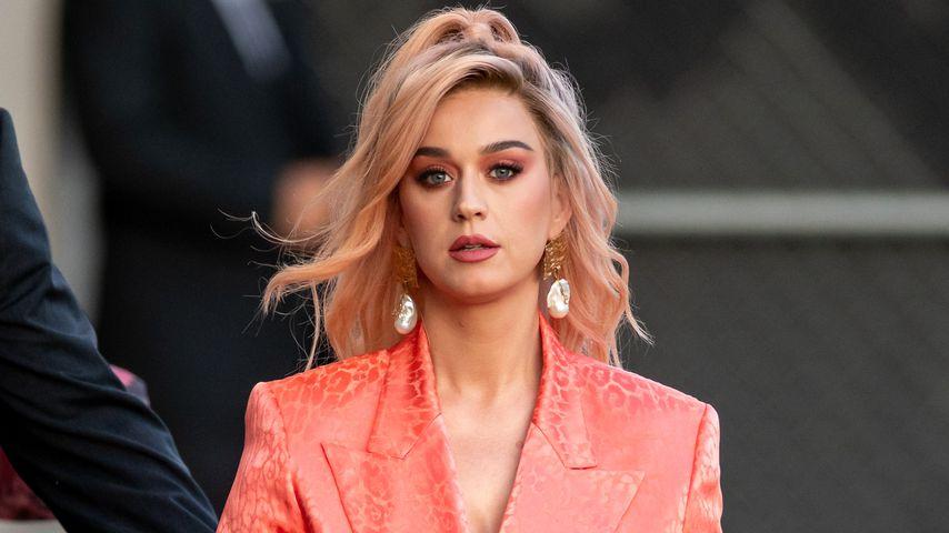 """Katy Perry auf dem Weg zu """"Jimmy Kimmel Live"""""""