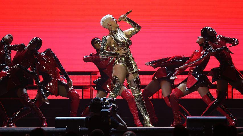 Katy Petty bei einem Konzert in Perth