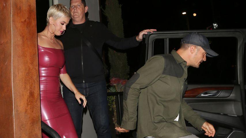 Katy Perry und Orlando Bloom beim Verlassen eines Restaurants in West Hollywood