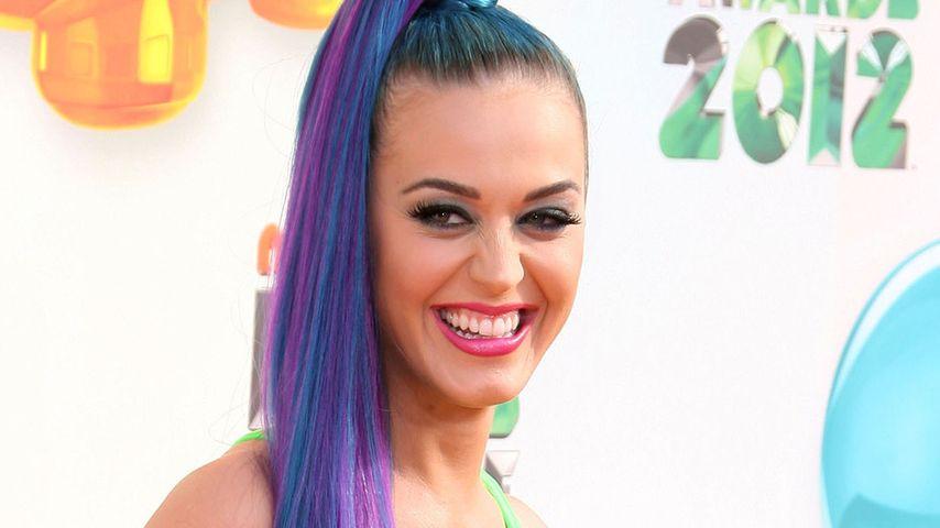 Katy Perry im witzigen Outfit in Neon-Grün