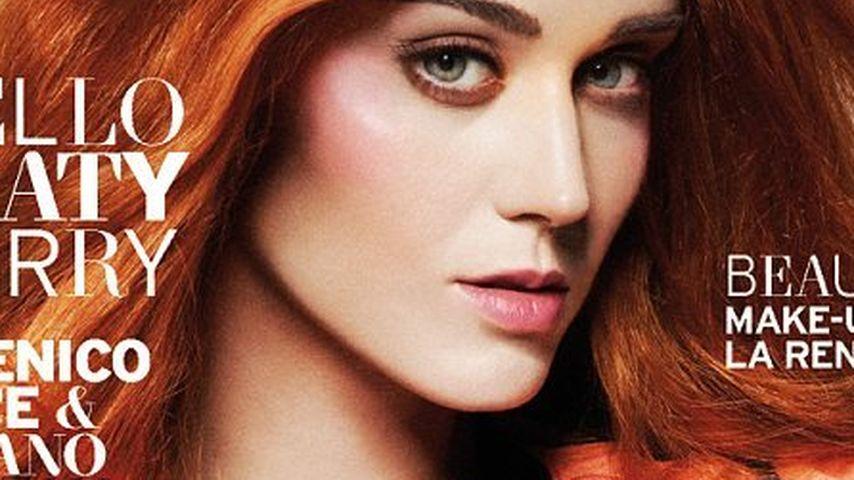 Haar-Veränderung! Katy Perry leuchtet jetzt in Rot