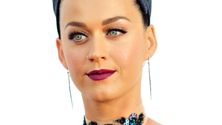 Lampenfieber! Katy Perry bibbert wegen Super-Bowl
